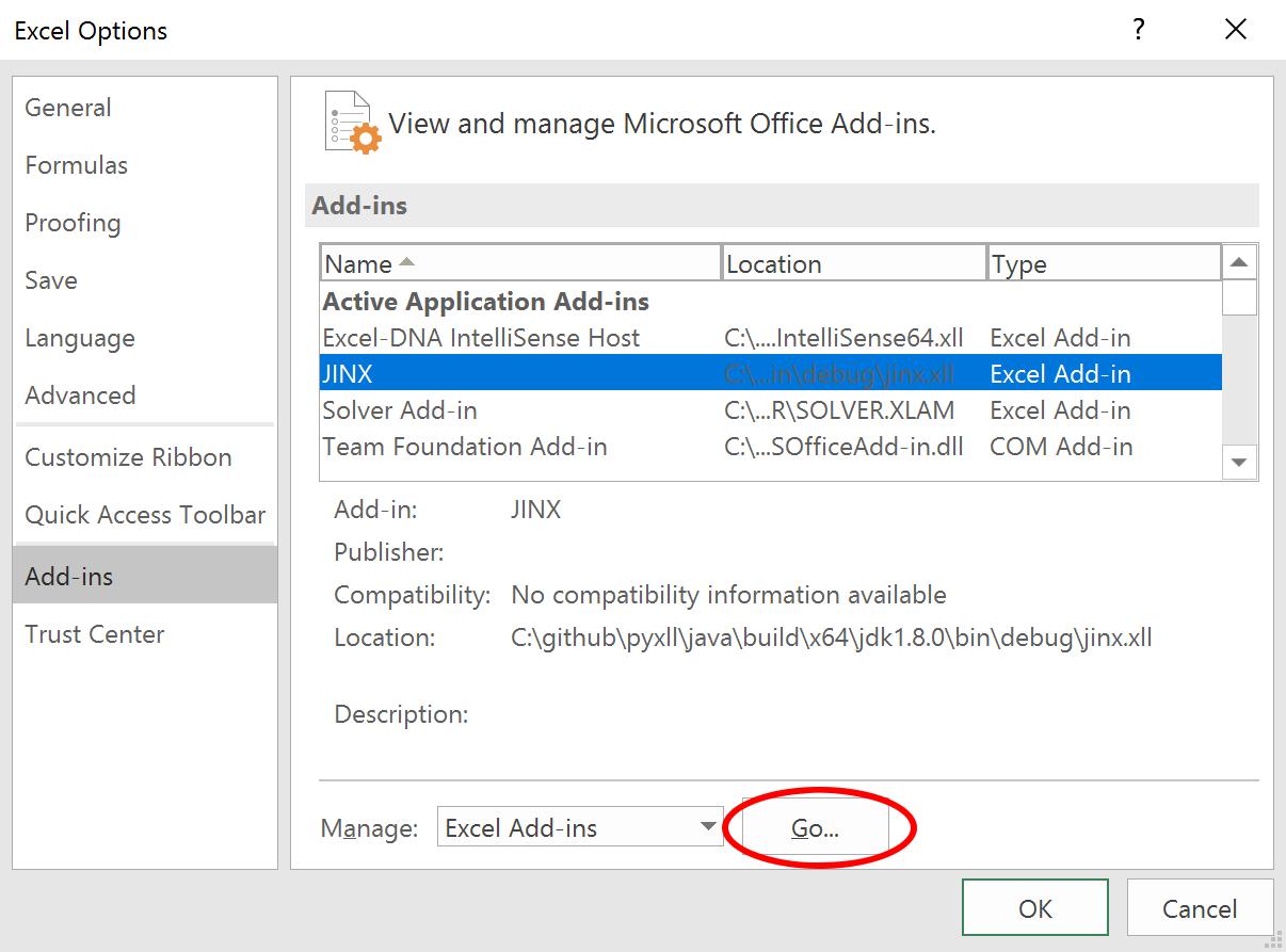 Download | Java in Excel